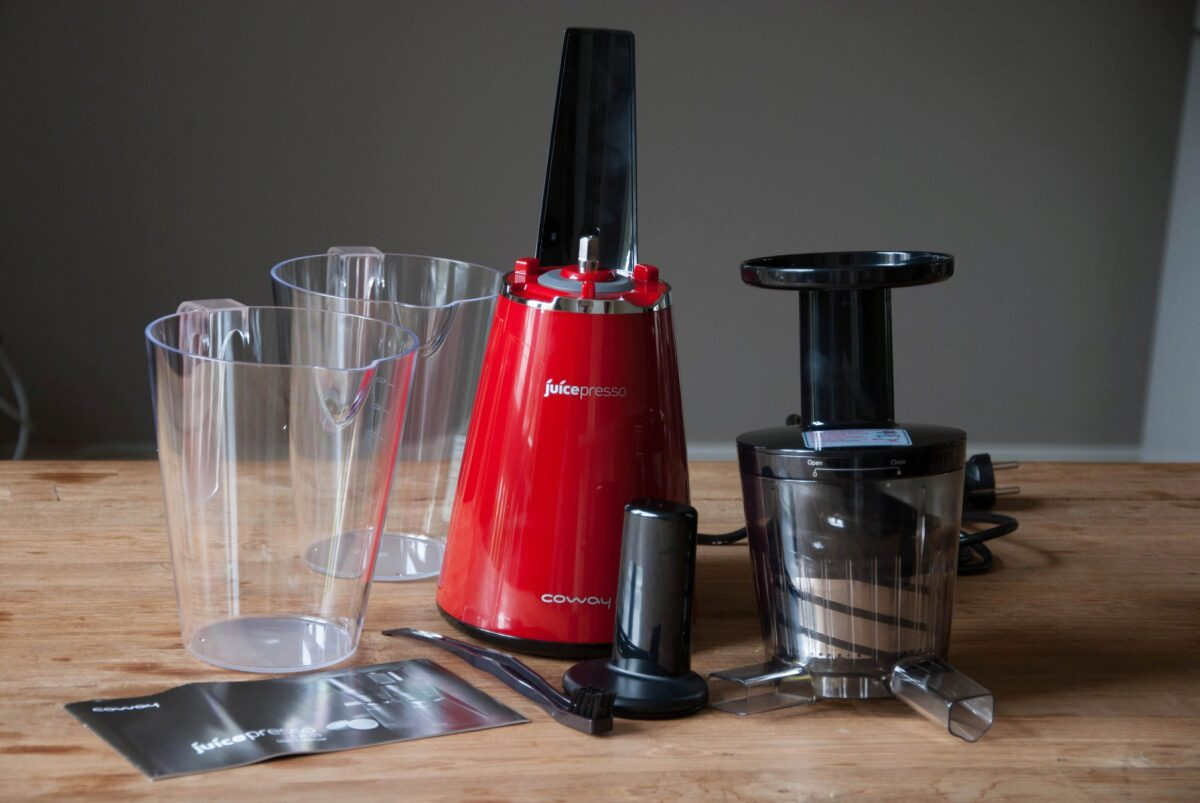 Coway Slow Juicer Review : Review: Juicepresso slowjuicer (Coway JuicePresso CJP-03) - My Food Blog